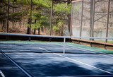 platform tennis paddle court outdoors also called paddle tennis or paddle
