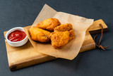 chicken with tomato sauce - 241945062