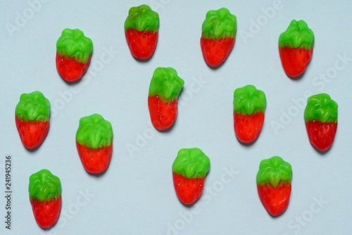 strawberry jelly candy