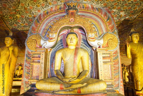 スリランカのヌワラエリヤの寺院