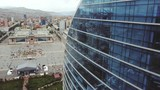 Capital Mongolia Ulaanbaatar earial downtown center above view cityscape - 241968240