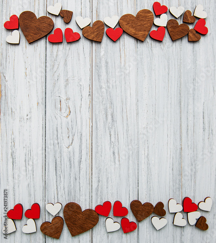 Valentine day romantic background - 241973871