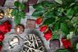 chocolate truffles for valentine day - 241981862