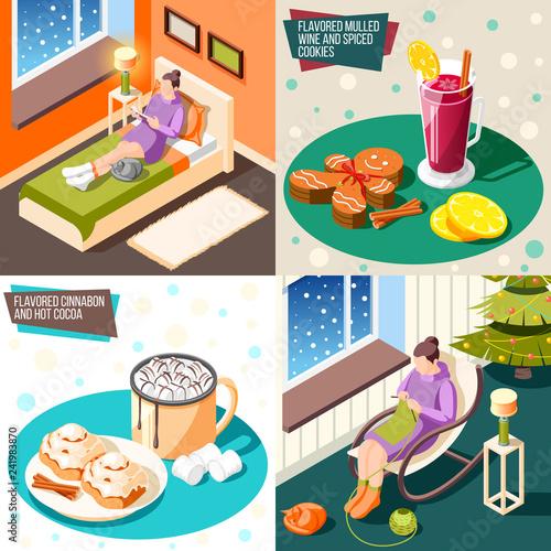 Cozy Winter 2x2 Design Concept