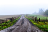 A road through rural Northamptonshire
