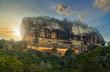 Leinwanddruck Bild - Sigiriya Rock Fortress Sri Lanka