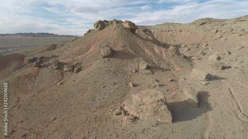 Mongolia. Gobi Desert. Dunes