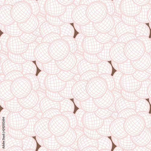 seamless floral background - 242012684