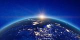China and Japan sunrise - 242021471