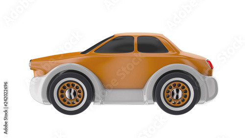 Toy car 3D render - 242022696