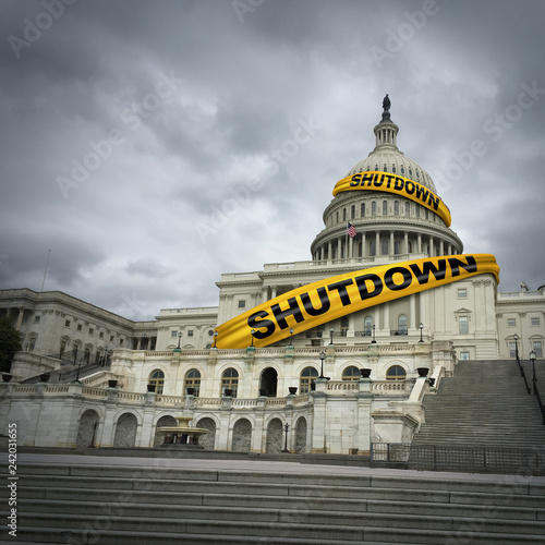 USA Government Shutdown