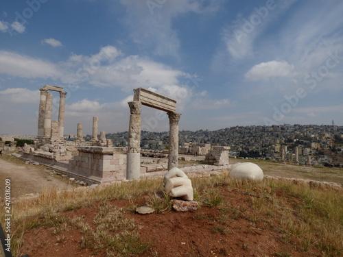 citadelle Amman,Jordanie