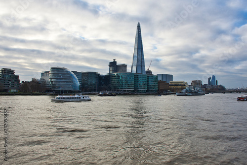 River Thames - London River Scene - London Growth and Development - Brexit Concerns