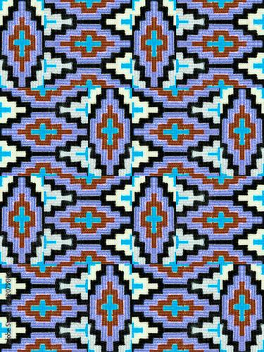 ..The pattern on fabric, handmade - 242079806