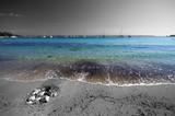 Fototapeta Fototapety z morzem - sea, sand and sun - plage d'argent à porquerolles © minicel73