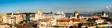 Panorama Blick auf Hafen von Havanna Kuba
