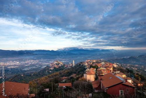 Vezzano Ligure Village - La Spezia Liguria italy