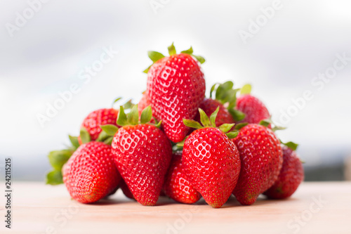 Foto Murales strawberries