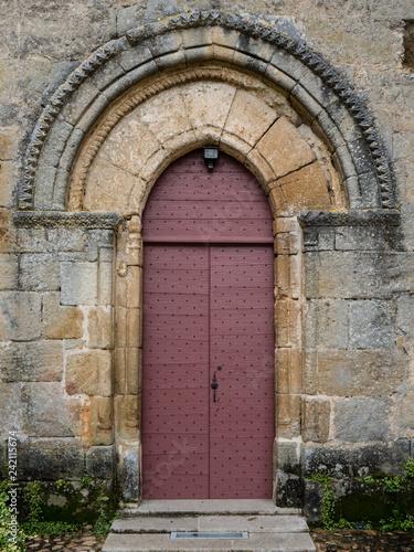 old door, tuscany, italy