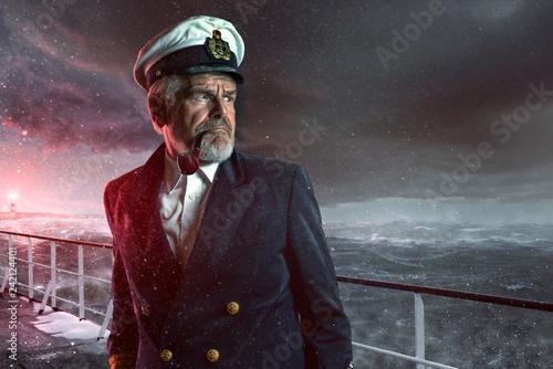 Seemann im Sturm © lassedesignen