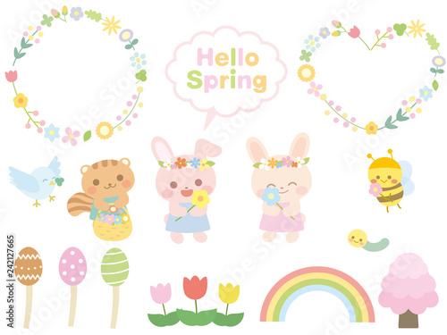 春の素材集5 - 242127665