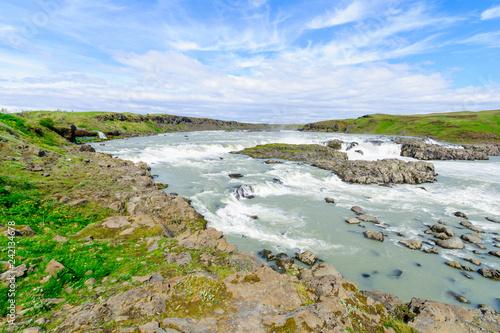 Urridafoss waterfall, south Iceland - 242134678