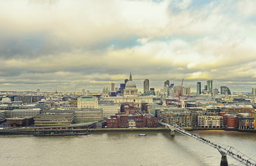 view of city of london © Iliya Mitskavets
