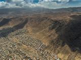 Fototapeta Do pokoju - Ciudad y desierto © Jorge
