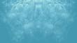Feinfasrige symmetrische Strukturen - Hellblau