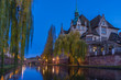 Leinwanddruck Bild - area Strasbourg Alsace France
