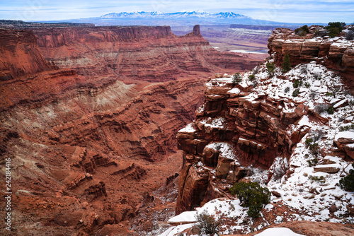 Dead Horse Point State Park Winter Morning - 242184416