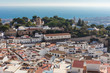 View of Mijas village in Malaga province, Spain. - 242194866