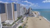 Cena aérea da cidade de Fortaleza Ceará Brasil - 242196024