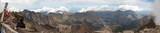 Panorama au sommet du Monte Cinto en corse