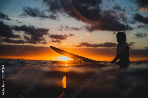 Queens Hawaii Surfer Girl