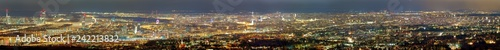 obraz lub plakat Wien Skyline Panorama ganze Stadt