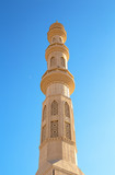 Beautiful architecture of Mosque in Hurghada, Egypt - 242229043