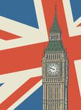 Fototapeta Big Ben - Big Ben - famous London Landmark © Flavijus Piliponis