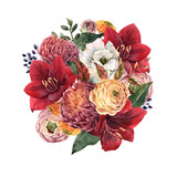 Beautiful floral composition - 242245802