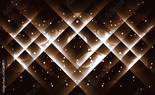 Background image with light gold flares.
