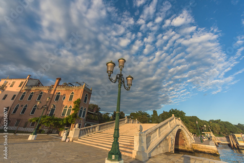Venice promenade at sunset - 242250077