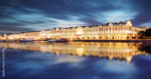 St. Petersburg - Winter Palace, Hermitage in Russia