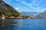 Beautiful landscape of sea coast of Montenegro from boat trip - 242260240