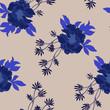 Beautiful seamless floral pattern background. - 242276094
