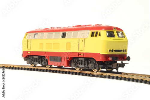 model train isolated on white | Buy Photos | AP Images