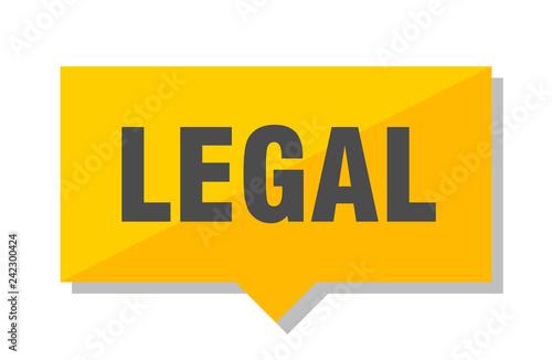 legal price tag