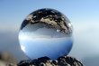 Leinwanddruck Bild - Allgäuer Alpen - Blick vom Nebelhorn
