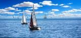 sailboat in the sea - 242301807