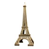 Fototapeta Fototapety Paryż - Tour Eiffel en métal doré © Brad Pict