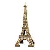 Fototapeta Paryż - Tour Eiffel en métal doré © Brad Pict